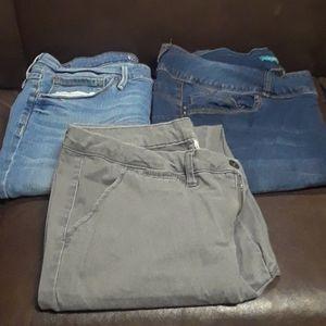 Jeans & Dress Pants